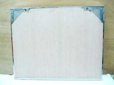 隆铭牌工艺社 不锈钢标示铭牌 不锈钢框白板公布栏图片